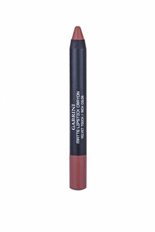 Gabrini Mat Ruj Matte Lipstick Crayon 08 1