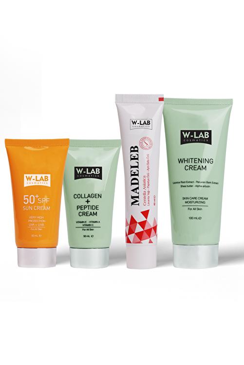 W-Lab Kozmetik Cilt Bakım Seti 4'lü 1