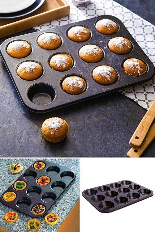 Pak Home 12 Li Muffin Kek Kalıbı 2