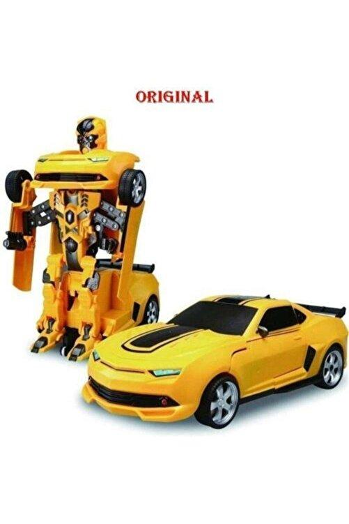 Elite Avm Bumblebee Oyuncak Transformers Robota Dönüşen Pilli Işıklı Sesli Eliteoyuncak 1