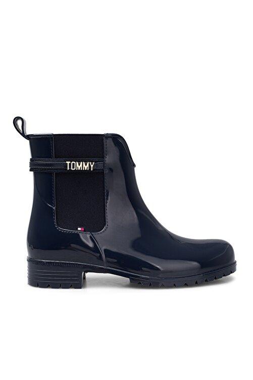 Tommy Hilfiger Kadın Lacivert Yağmur Çizmesi Fw0fw05202 Dw5 1