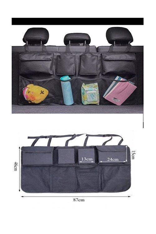 Canteks Araç Içi Bagaj Eşya Düzenleyici Oto Bagaj Organizer 8 Cepli Fileli 2