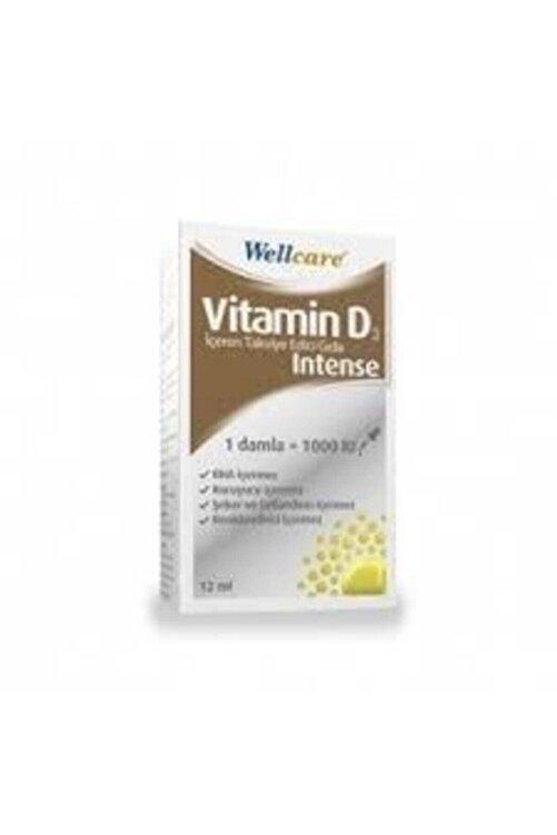 Wellcare Vitamin D3 1000 Iu Intense Damla 12 ml 1