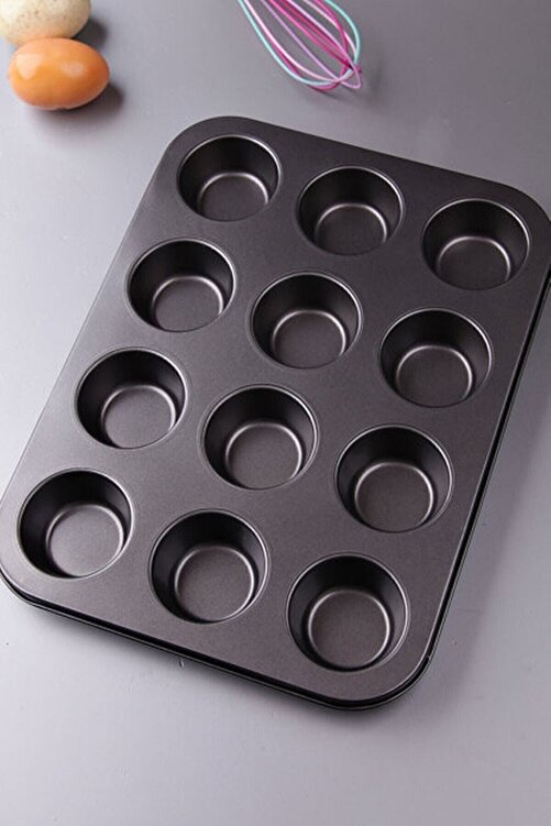 Pak Home 12 Li Muffin Kek Kalıbı 1