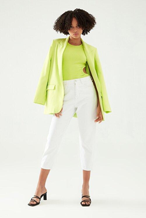 Quzu Blazer Ceket Açık Yeşil 1