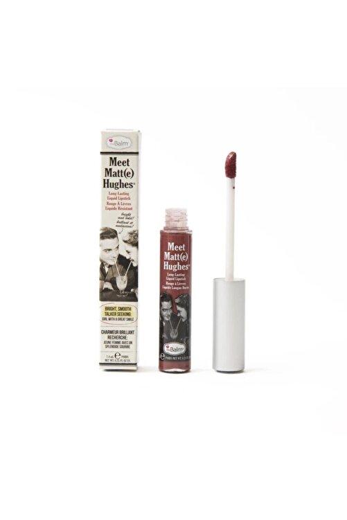 the balm Meet Matte Hughes Lipstick Likit Ruj - Trustworthy 1