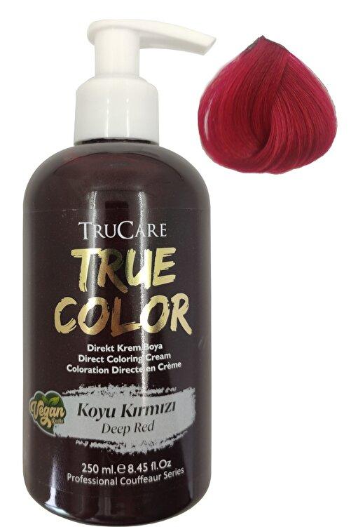 Trucare Truecolor Vegan Saç Boyası Koyu Kırmızı 250 ml 1