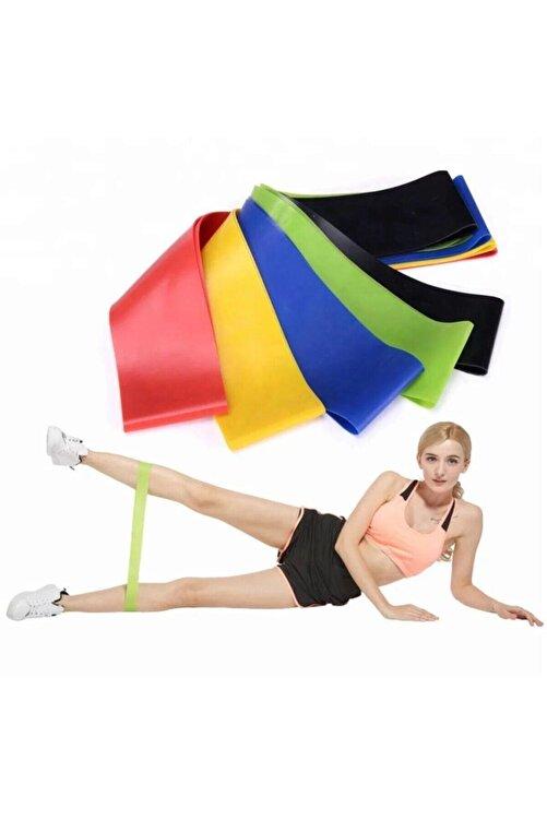 TechnoSmart 3 Lü Farklı Dirençte Aerobik Bandı Hafif Orta Sert Pilates Squat Çalışma Lastiği 2