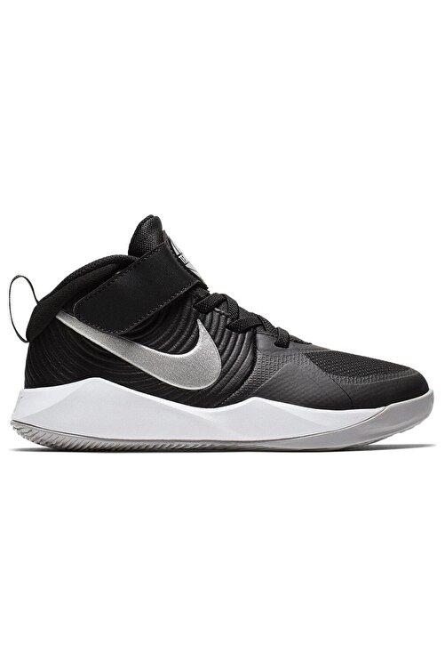 Nike Kids Siyah Team Hustle D 9 Çocuk Basketbol Ayakkabısı 1