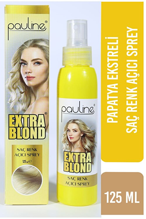 Pauline Doğal Saç Açıcı Sprey - Extra Blond 125 ml 2