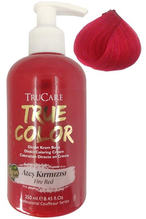 Trucare Vegan Saç Boyası Ateş Kırmızısı 250 ml 1