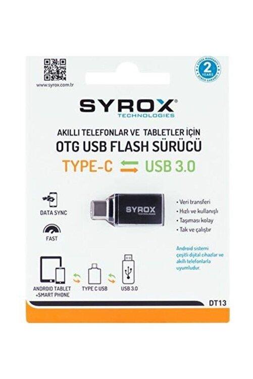 Syrox Usb-3 Den Type C Ye Dönüştürücü Otg Dt13 1