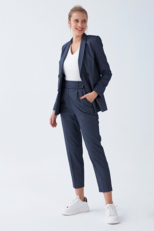 Chima Geniş Kemerli Pantolon 1