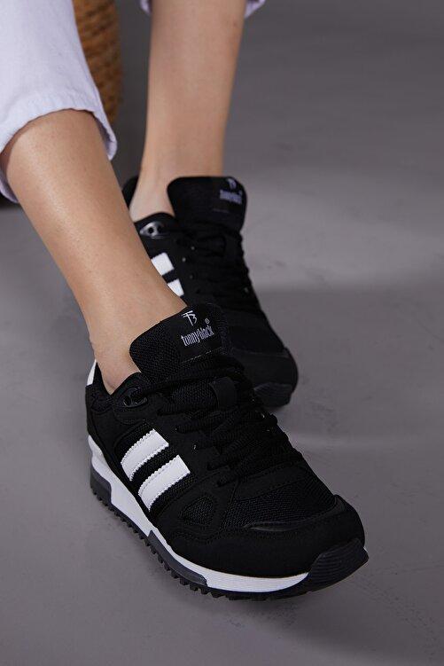 Tonny Black Siyah Beyaz Unisex Sneaker TB282-0 2