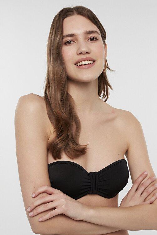 Penti Kadın Siyah Basic Pop Bikini Üstü 1