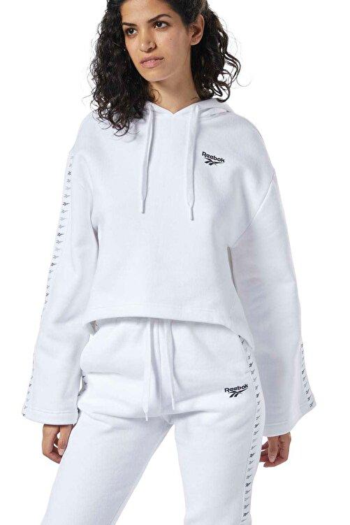 Reebok CL V P HOODIE Beyaz Kadın Sweatshirt 100584407 1
