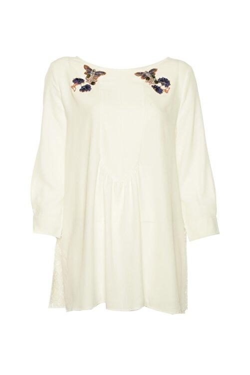 İpekyol Kadın Beyaz Tunik IS1190016020 1
