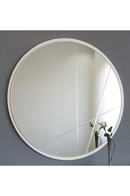 Vivense Neostill Dekoratif Ayna Modern Desen 60Cm Yuvarlak 1