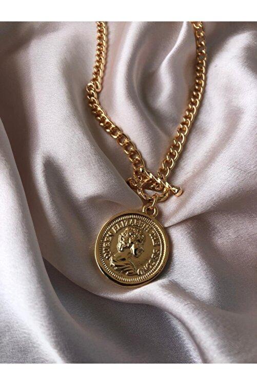 Accessorize Kadın Altın Elizabeth Kolye 2
