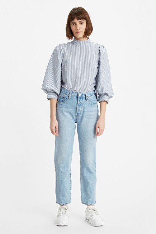Levi's Kadın Mavi Yüksek Bel Pamuk Jeans  36200 501 1