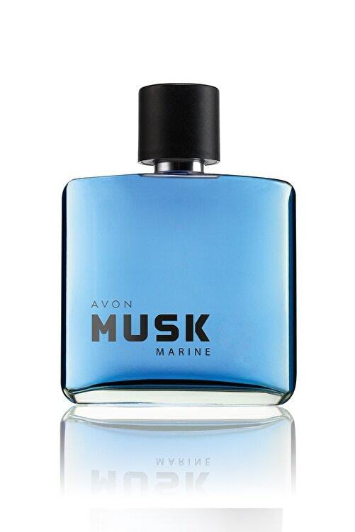 AVON Musk Marine Erkek 75ml EDT +  Roll-On Deodorantlı Parfüm Seti 2