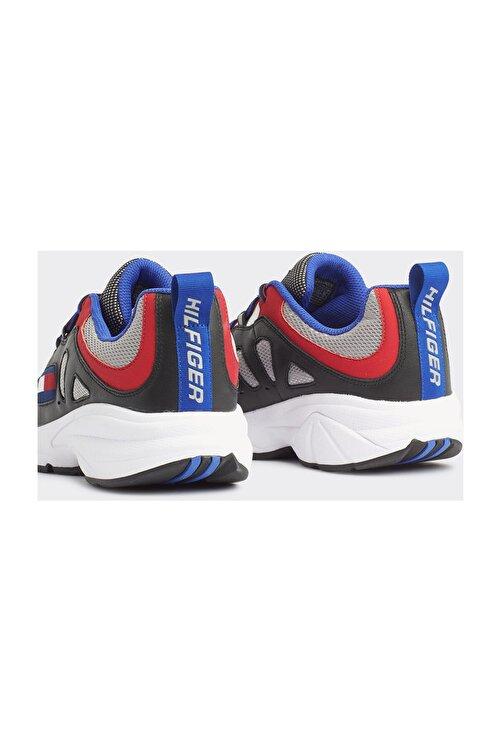 Tommy Hilfiger Erkek Siyah Sneaker Herıtage Retro Sneaker EM0EM00335 2