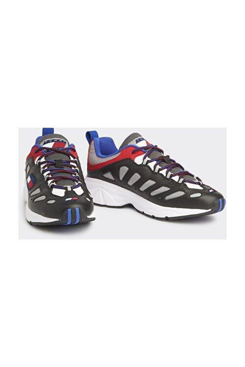 Tommy Hilfiger Erkek Siyah Sneaker Herıtage Retro Sneaker EM0EM00335 1