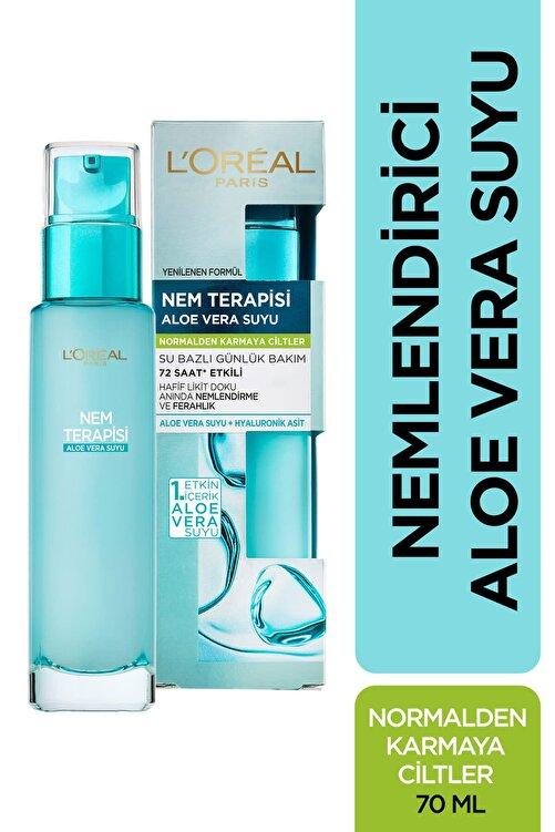 L'Oreal Paris L'Oréal Paris Nem Terapisi Aloe Vera Suyu Normalden Karmaya Ciltler - 3600523424894 1