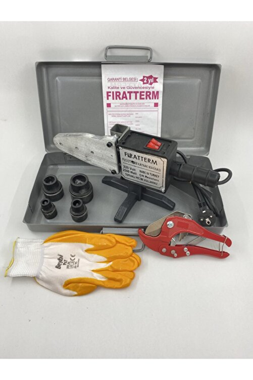 Sgs Fıratterm Pvc Plastik Boru Kaynak Makinası 2500w Çantalı - Set3 1