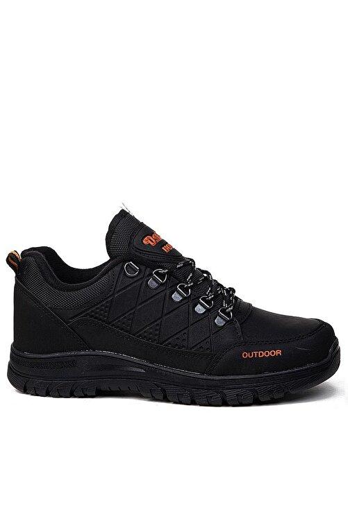 Giyyin Siyah Erkek Trekking Ayakkabı Dkrs114 2