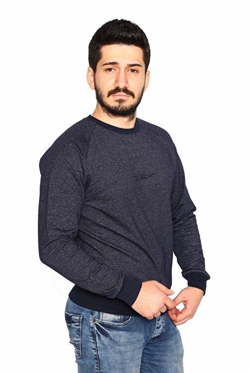 BESSA Lacivert Sweatshirt 2 Iplik Molino Kumaş Reglan Kol 2