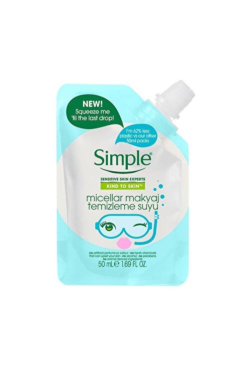 Simple Kind To Skin Mini Micellar Makyaj Temizleme Suyu 50 Ml 2