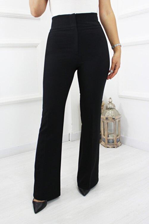 UGİMPOL Yüksek Bel Ispanyol Kumaş Pantolon 2
