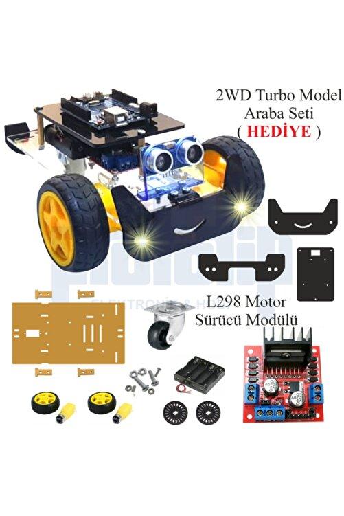 Arduino Başlangıç Seti Uno R3 ( Ch340 ) Süper Ideal Set -- 2