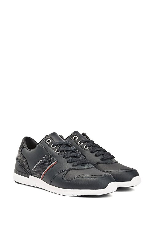 Tommy Hilfiger Kadın Lacivert Corporate Lightweight Sneaker Fw0fw05244 1