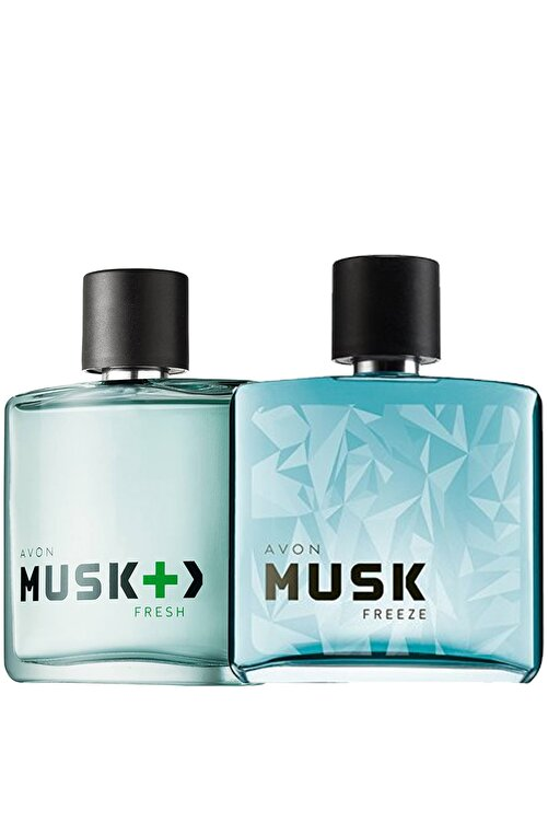 AVON Musk Fresh Ve Musk Freeze Erkek Parfüm Paketi 1