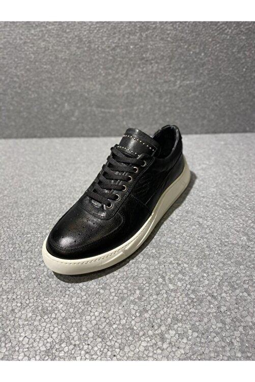 TETRİ Erkek Siyah Yürüyüş Ayakkabısı 2
