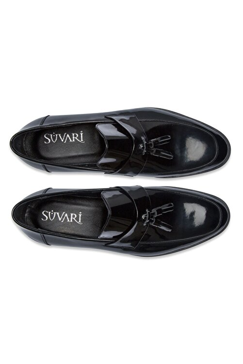 SÜVARİ Erkek Siyah Klasik Loafer Ayakkabı 2