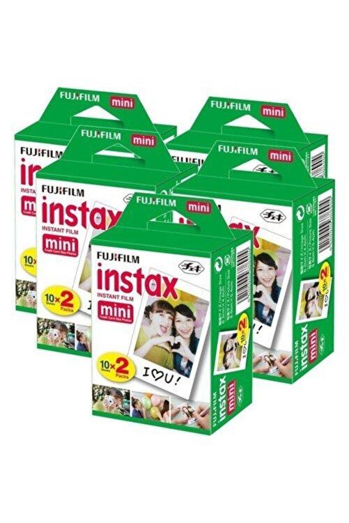 Fujifilm Fuji Instax Mini 10x2 20 Sheets Fotoğraf Filmi 5 Paket (100 Poz) 1