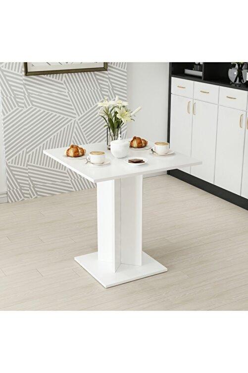 Minar Beyaz Xeon Yemek Masası 72X72 1
