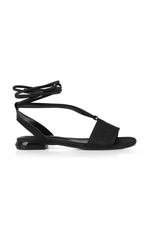 Oblavion Kadın Siyah Sandalet 1
