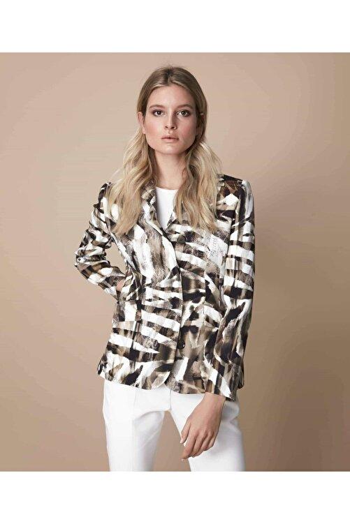 İpekyol Kadın Koyu haki Gizli Patlı Ceket IS1200005049177 1