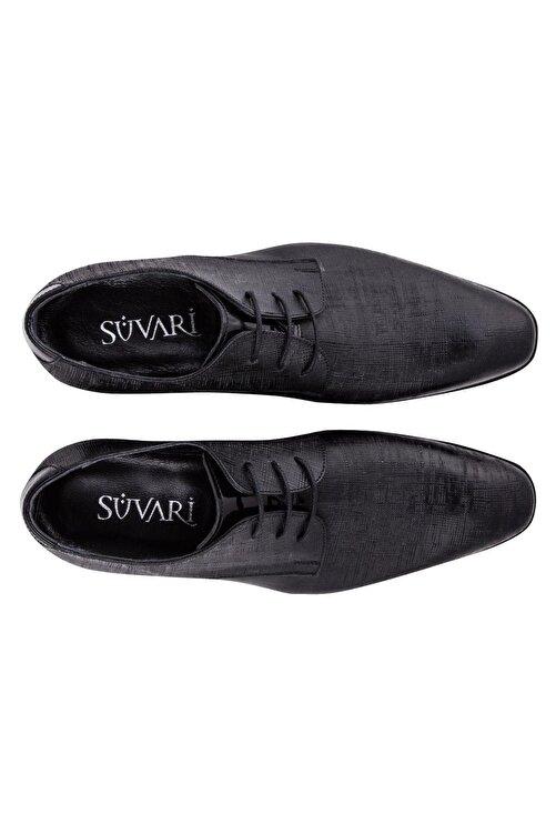 SÜVARİ Erkek Siyah Klasik Ayakkabı 2