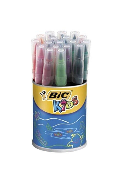 Bic Kids Visaquarelle Fırça Uçlu Keçeli Boya Kalemi 18 Renk Kavanoz 1