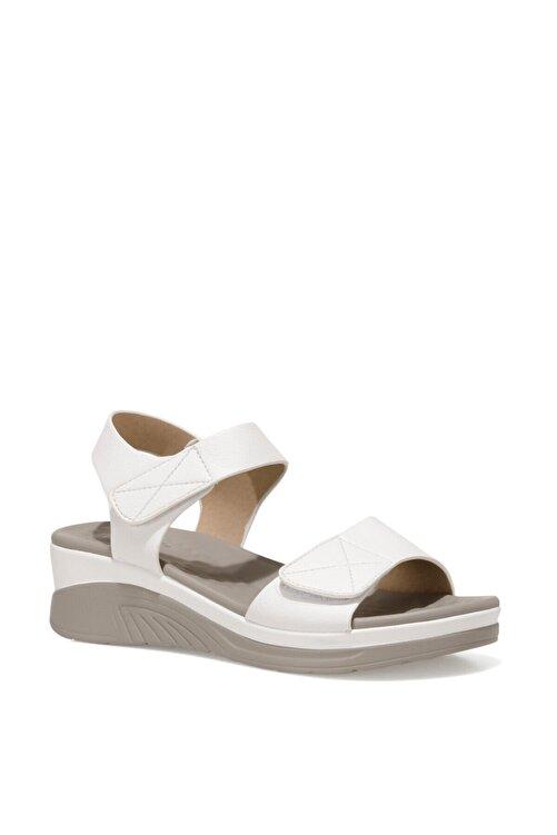 İnci CLINTTUN 1FX Beyaz Kadın Kalın Tabanlı Sandalet 101027779 2