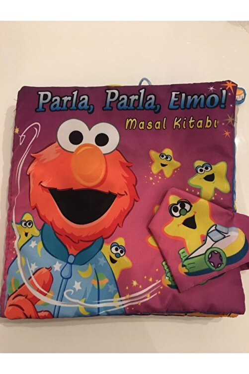 Soft and Baby Parla Elmo 3 Boyutlu Masal Kitabı 1