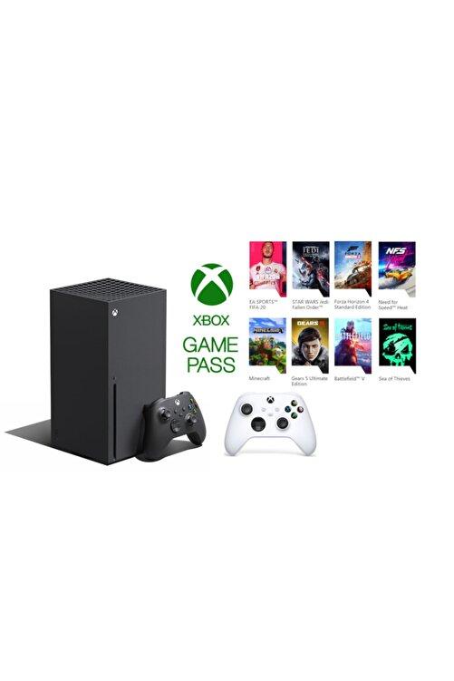 MICROSOFT Xbox Series X 1TB SSD Oyun Konsolu + 1 Kol Beyaz + 1 Yıl Live Gold + Gamepass 1