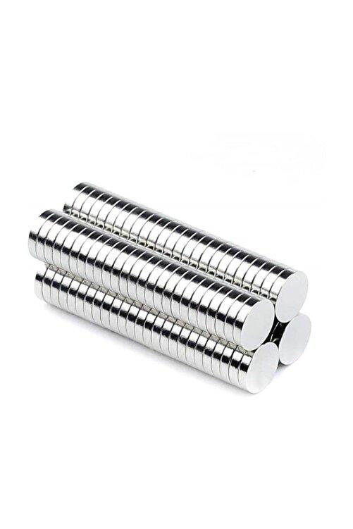 Dünya Magnet 50 Adet 6mm X 3mm Yuvarlak Güçlü Neodyum Mıknatıs (50'li Paket) 1