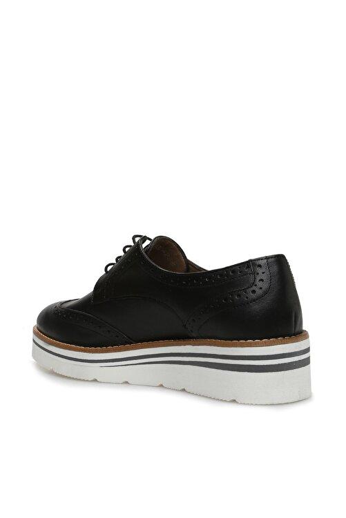 Dıvarese Hakiki Deri Siyah Ayakkabı 2