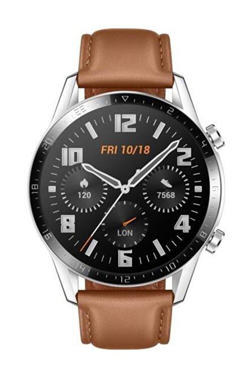 Huawei Watch GT2 46mm Classic Akıllı Saat - Kahverengi 1